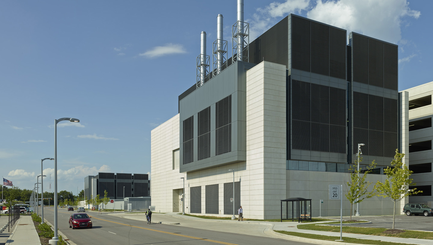 Eskenazi Health Central Utility Plant and Chiller Boiler Plant