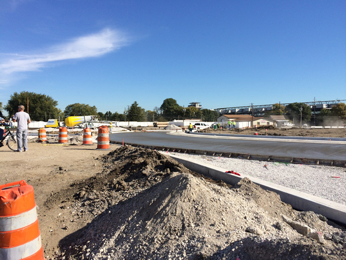 16th Street/Crawfordsville Road/Georgetown Road Intersection Reconstruction