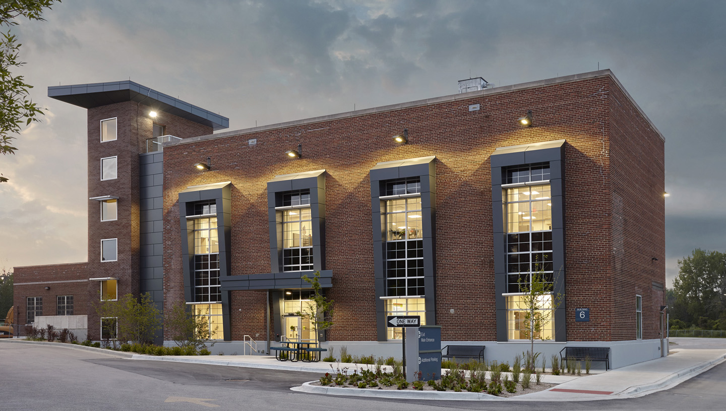 Veterans Affairs Boiler House to Engineering Office Adaptive Reuse