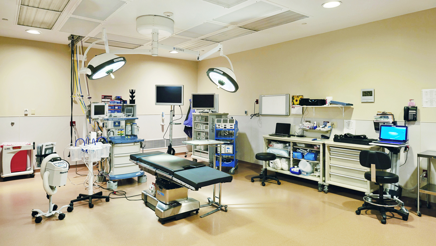 Operating Room Renovation American Structurepoint