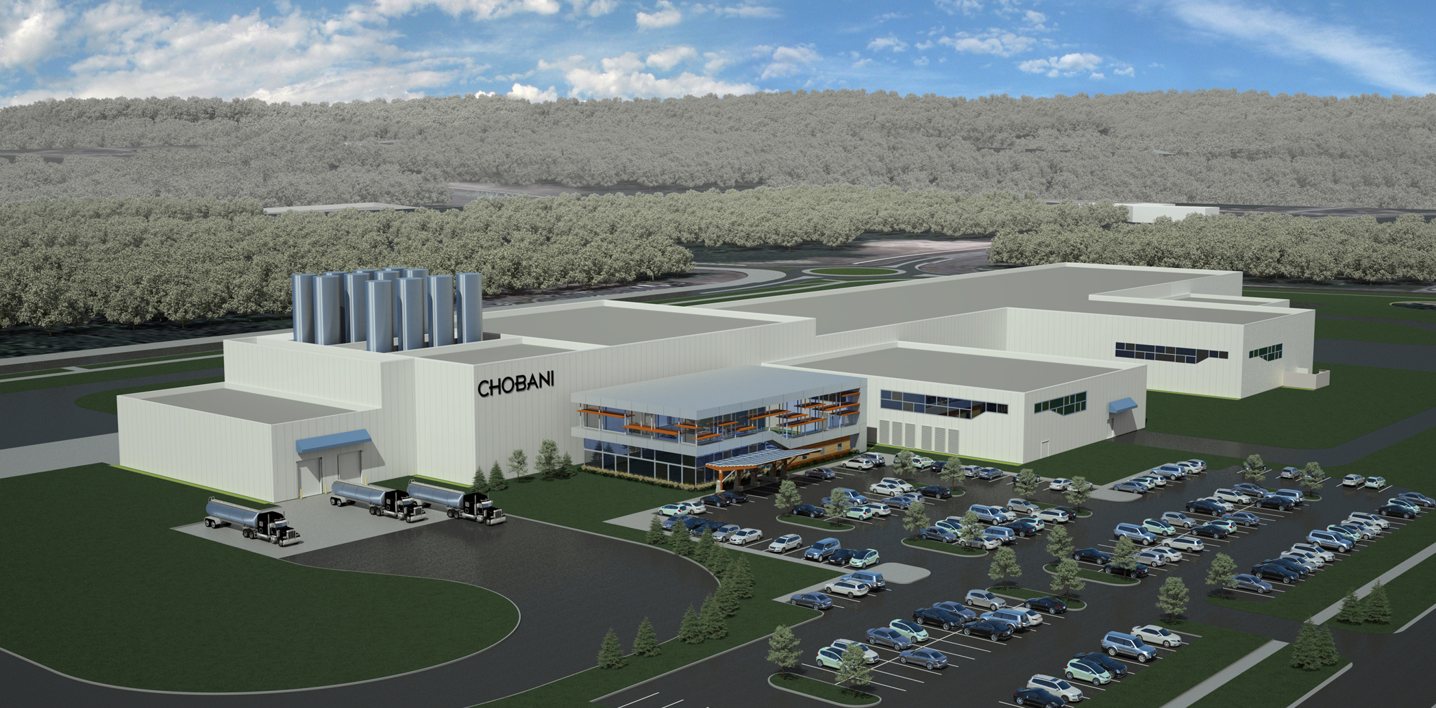 Chobani Yogurt Facility Conceputal Design