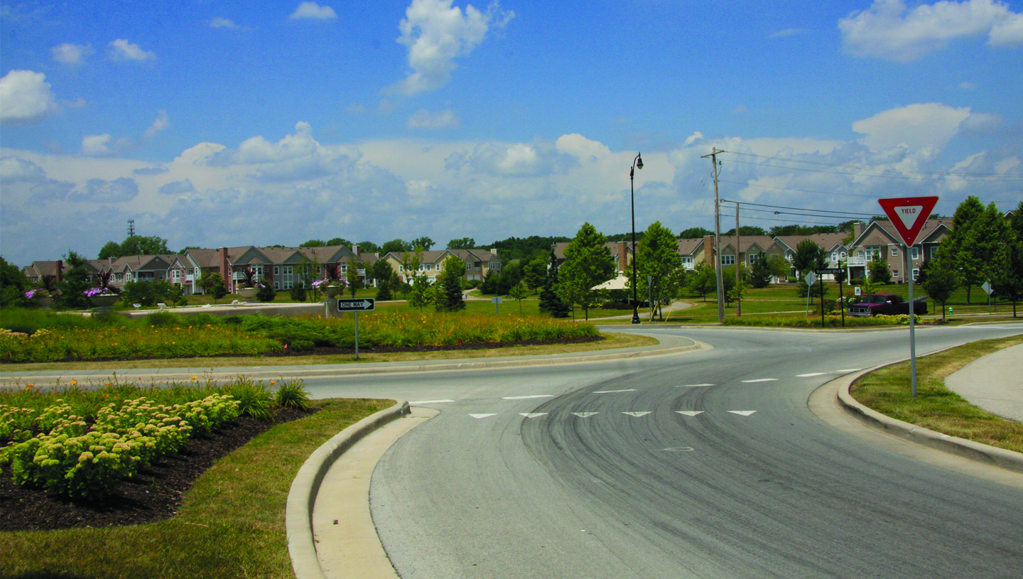 Westfield Boulevard and 96th Street Roundabout