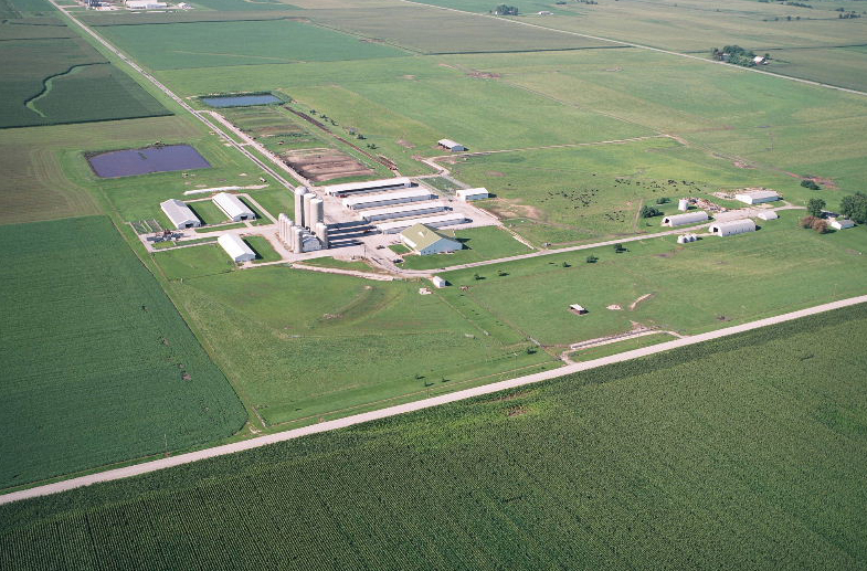 Purdue University Animal Science Research and Education Center Waste Separation