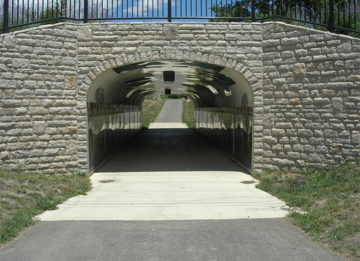 Brand Road/Bristol Parkway and Dublin Road/River Forest Road Bike Path Tunnels
