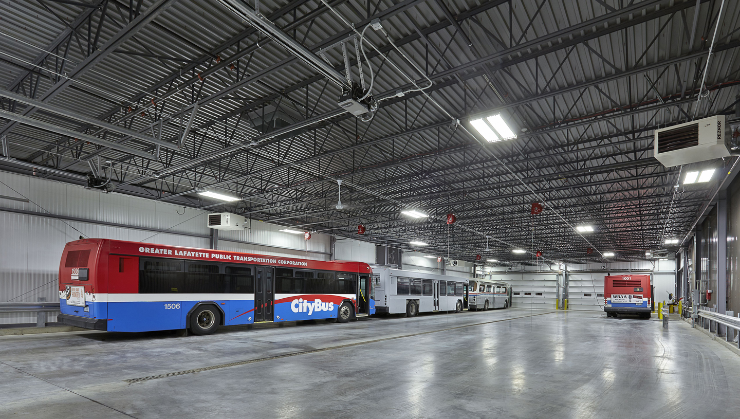 CityBus Bus Storage and Administrative Facility