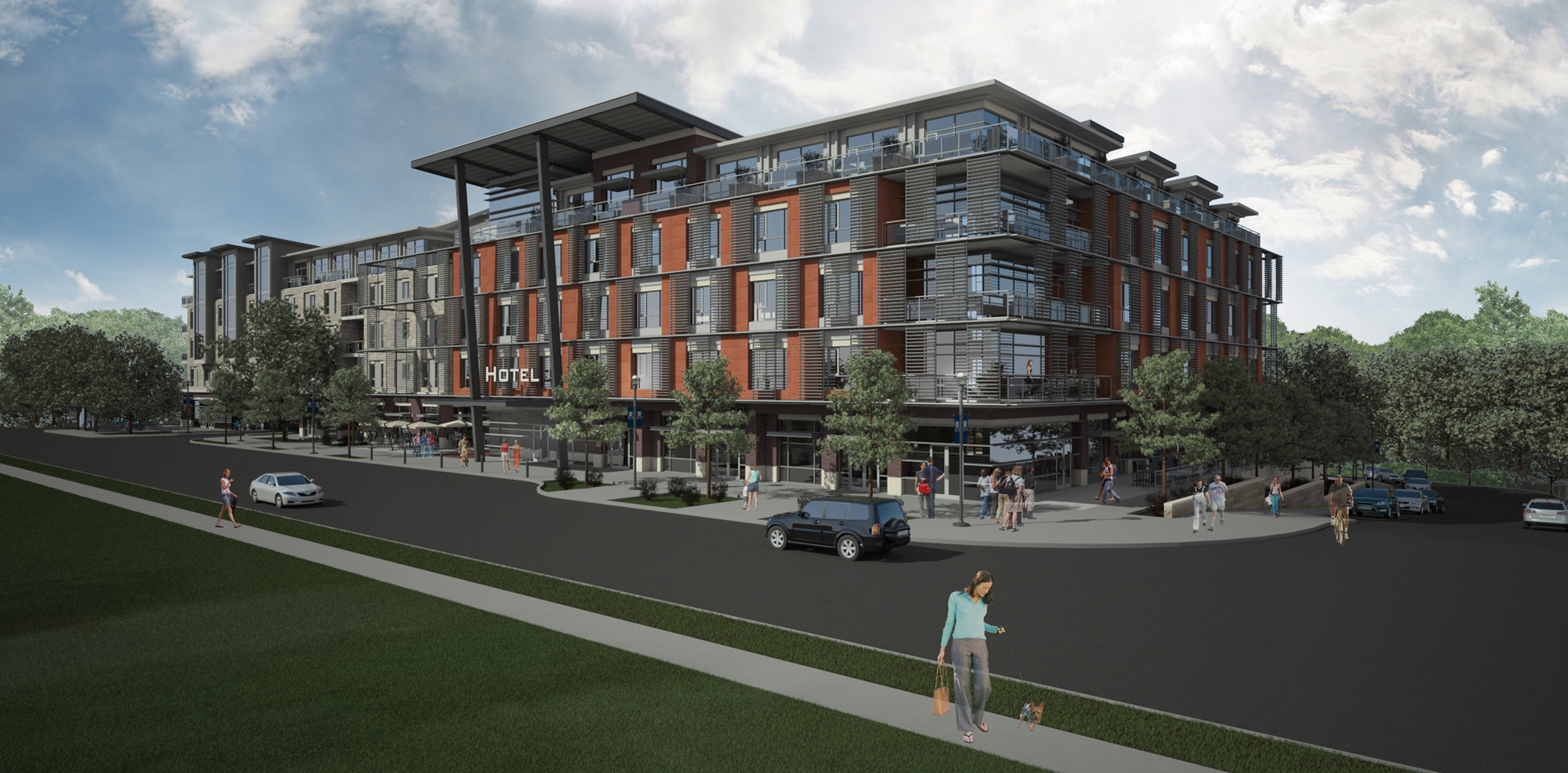 Butler University Mixed-Use Development (Conceptual Design)