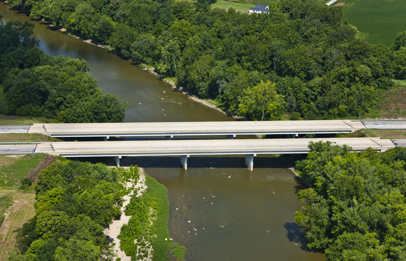 US 24 over Wabash River Bridge