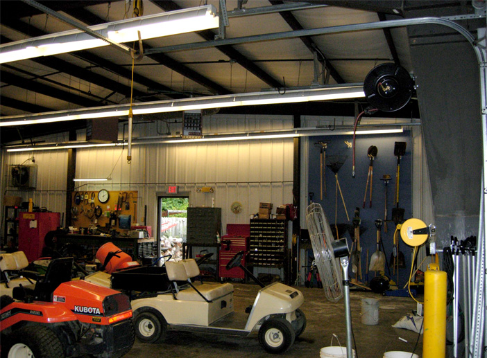 Marian University Maintenance Garage