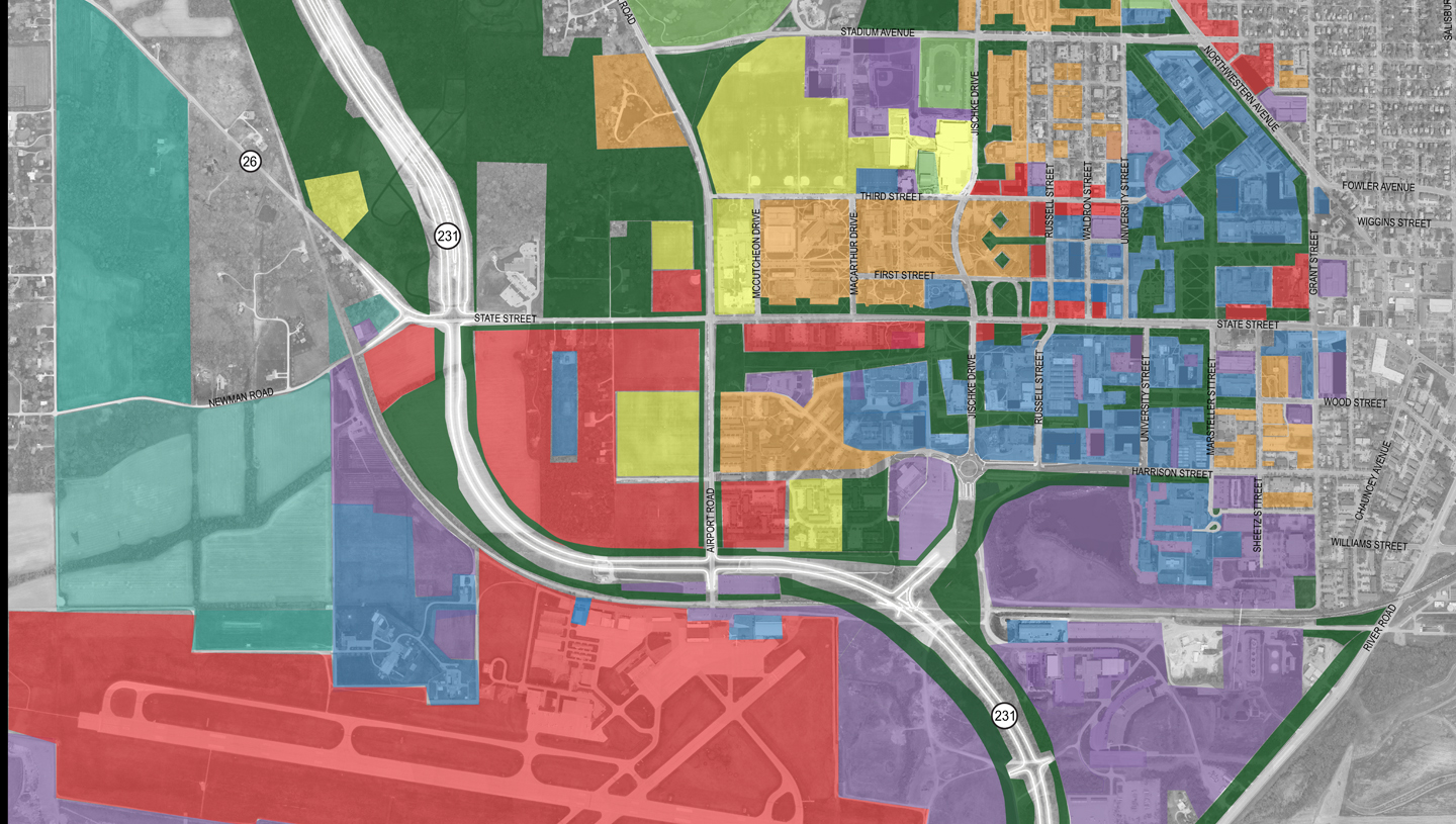 Land Use Plan for Purdue University Area