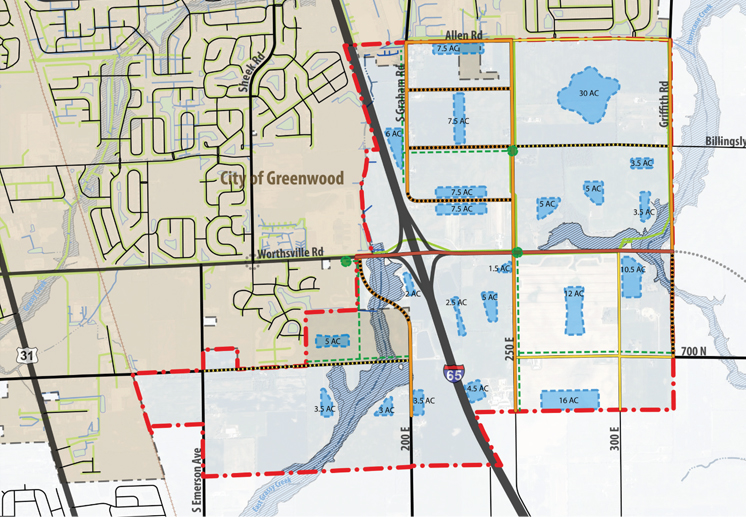 I-65/Worthsville Road Interchange Land Use Plan