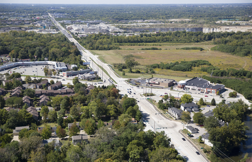 96th Street and Allisonville Road Intersection Reconstruction