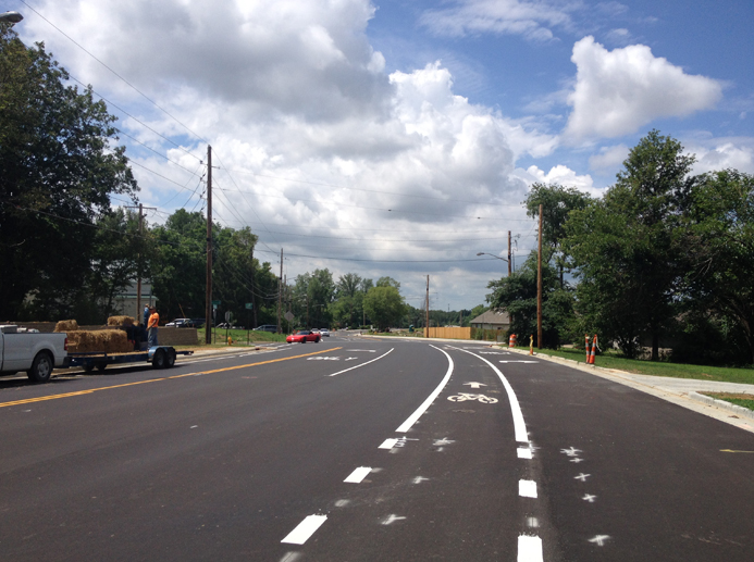 Oak Hill Road Improvements, Phase II