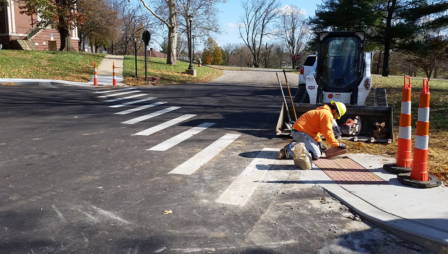Repair Roads and Site Access, Leestown VAMC