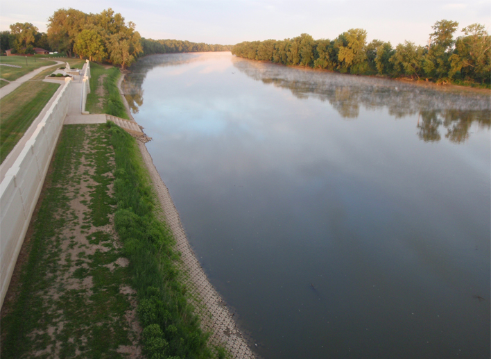 SR 441 over the Wabash River
