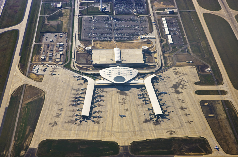 Indianapolis International Airport Midfield Terminal Roads and Bridges