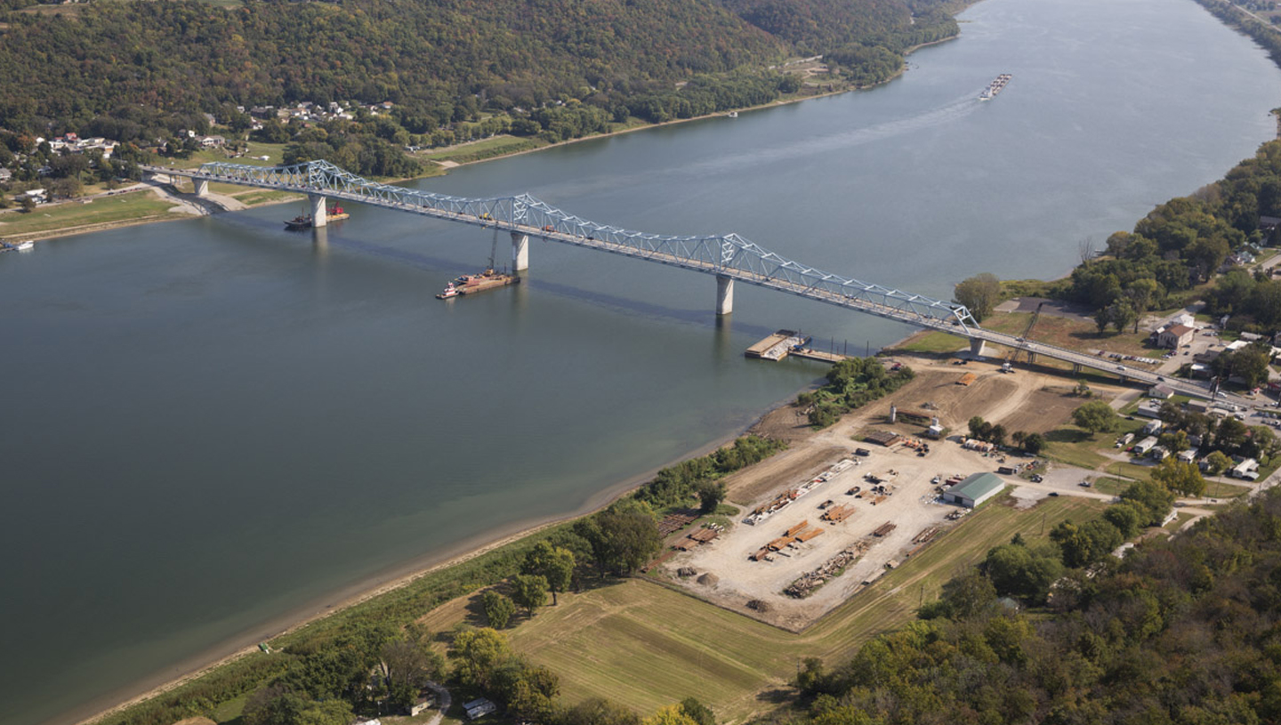 US 421, Milton-Madison Bridge over the Ohio River