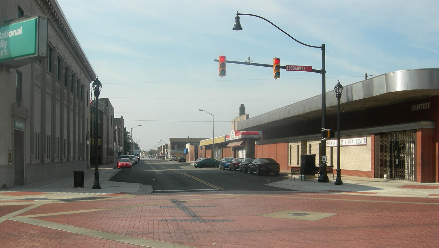 Broadway Street and Main Street Reconstruction