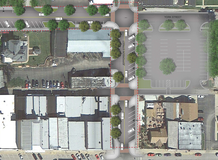 Jefferson and York Streetscape Improvements