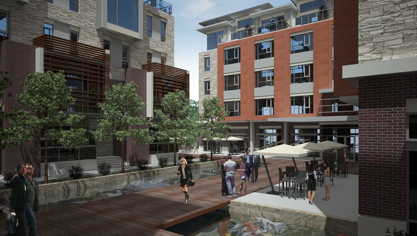 Butler University Mixed-Use Development, Conceptual Design