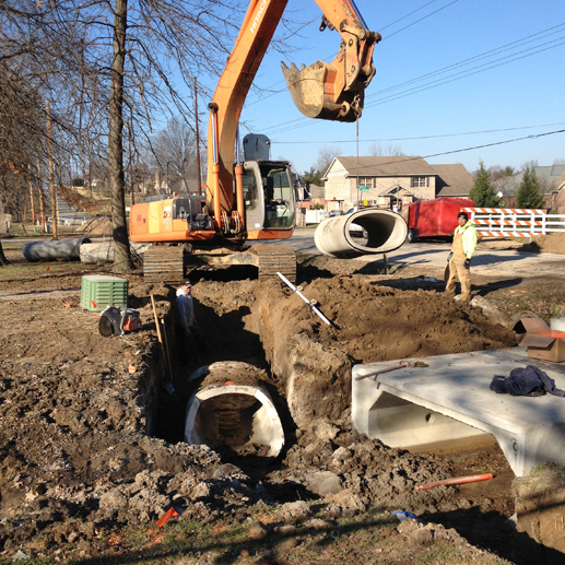 Water Main Emergency Repair