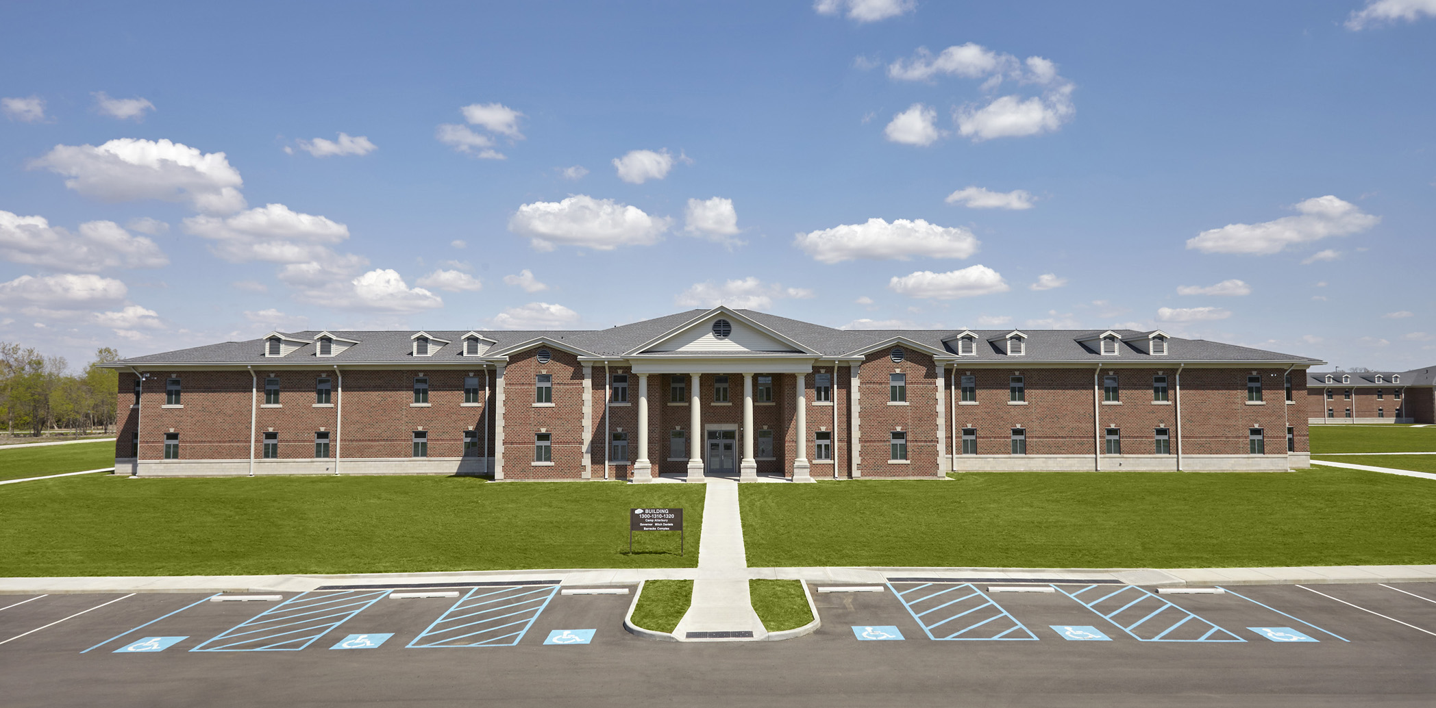 Indiana National Guard Mitch Daniels Barracks Complex