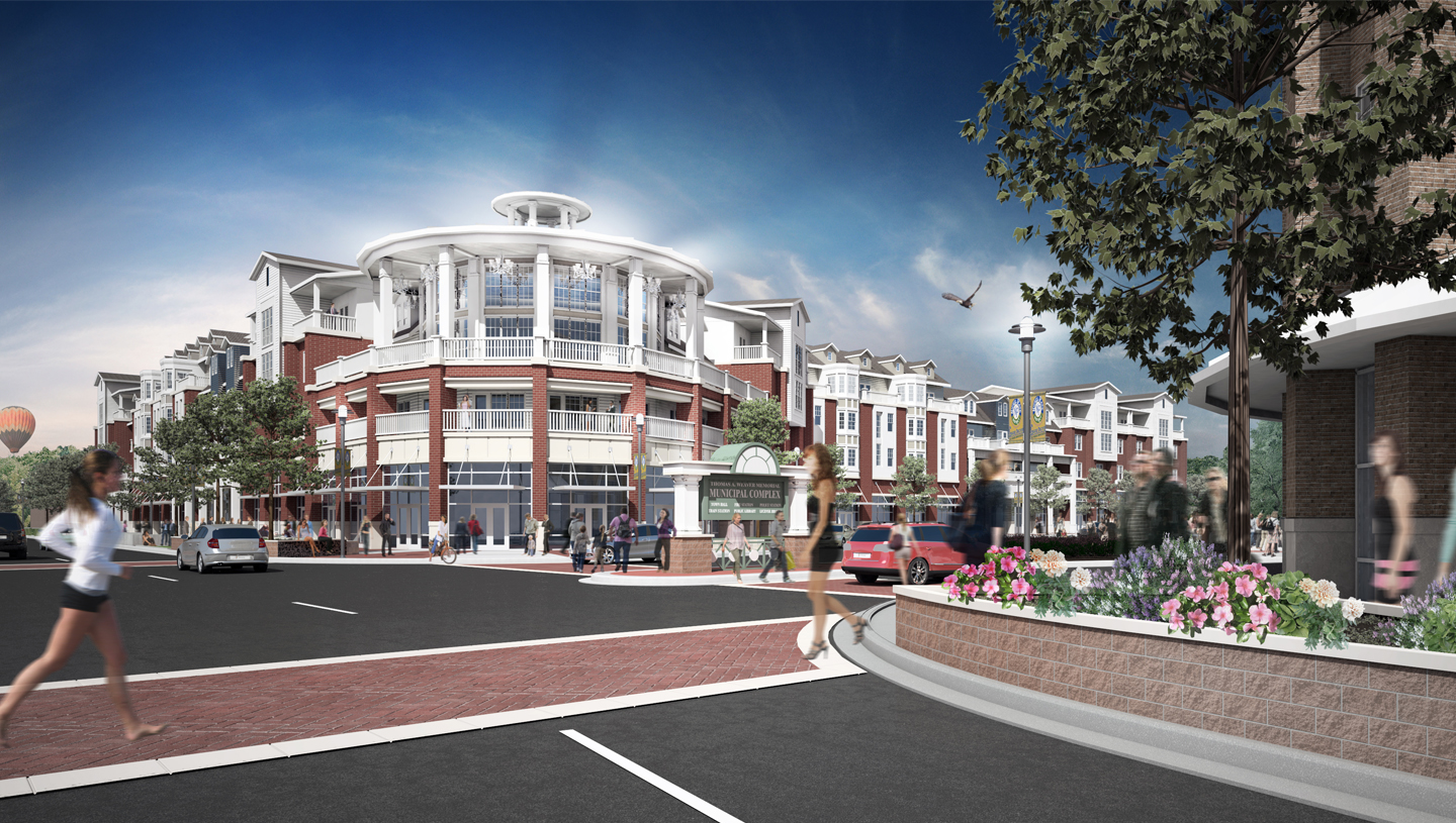 Fishers Town Center Mixed-Use Development