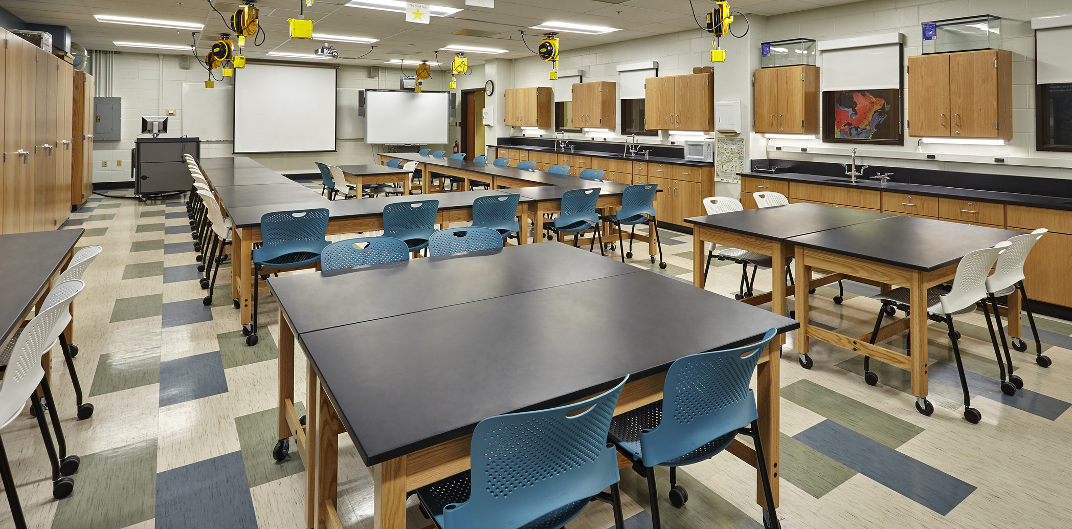 Purdue University Hampton Hall Earth Atmospheric Sciences Classroom Renovation