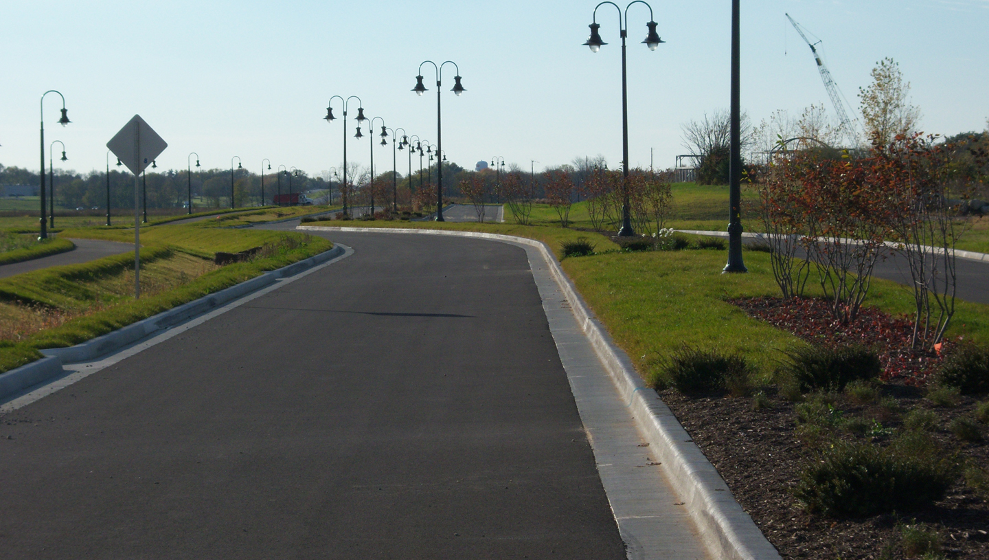 Ivy Tech Campus Access Roads