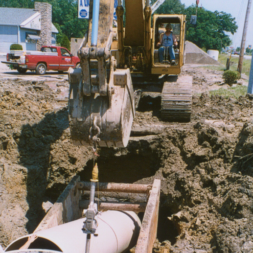 Broadway-Tekoppel Sewer Project