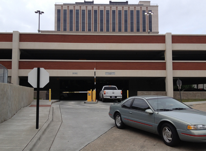 Parking Structure Expansion Va Medical Center American Structurepoint